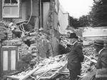 BOMB DAMAGE IN HAMPTON - from LBRUT Local Studies collection