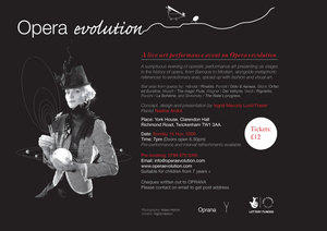 poster of opera evolution