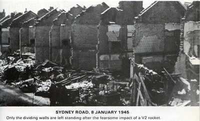 Sydney Road bombed