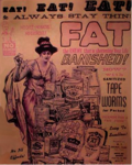 AN AD FOR THE TAPEWORM DIET