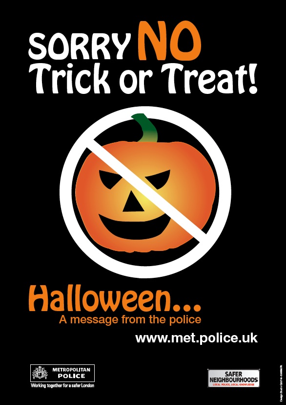 no halloween print outs from the police
