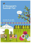 St Margarets Fair Poster and Directory