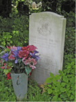 THE GRAVE OF PRIVATE WHITE IN HESTON CHURCHYARD
