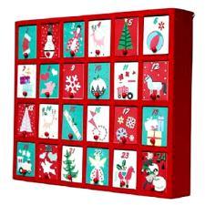 Wooden Box Advent Calendar