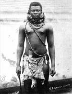 Dinuzulu in his beads