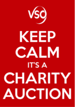vso auction poster