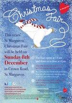2013 St Margarets Christmas Fair Poster