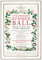 Strawberry Summer Ball flyer