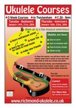 Ukulele Course Flyer