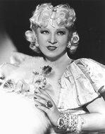 Mae West with Diamonds