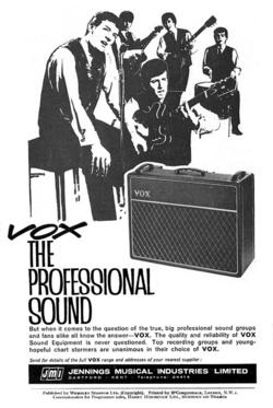 hollies vox advert