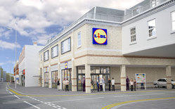 LIDL Richmond Road drawing