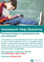 Richmond Homework help poster