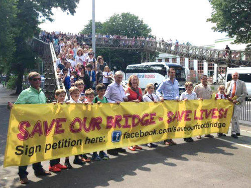 save our footbridge