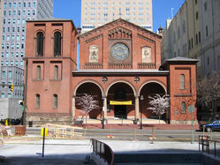 Old St Pauls Church in Baltimore