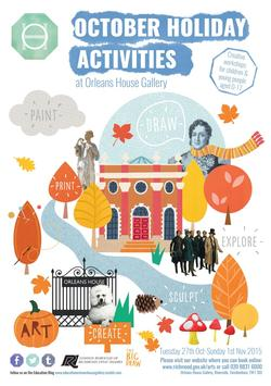 October 2015 Half Term Orleans poster