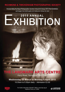RTPS Exhibition Poster 2015 - Photograph by Seamus Reid, President, Richmond and Twickenham Photographic Society