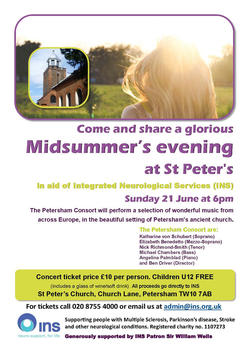 St Peters   21 June 2015 Poster