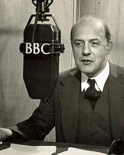 Betjeman at the BBC