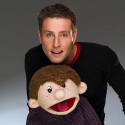Paul Zerdin and Sam