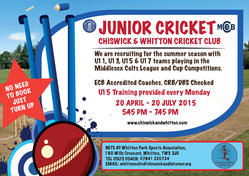 cricket poster summer 2015   U15