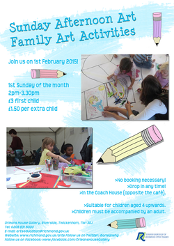 sunday art flyer jan 2015