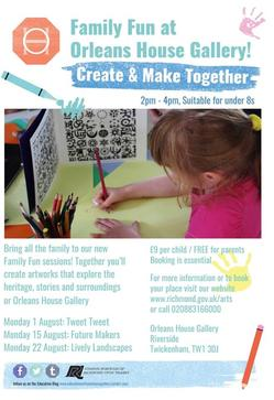 Create and make together poster
