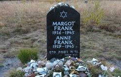 Anne frank memorial bergen belsen