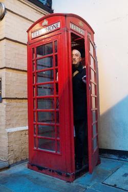 Martyn in Ziggy box