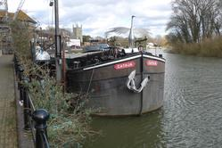 The boat near isleworth