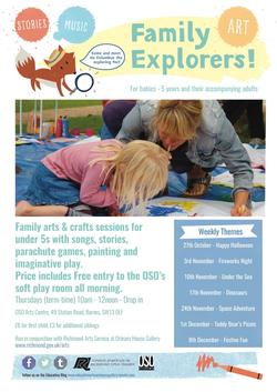 Family Explorers Poster Autumn 2016