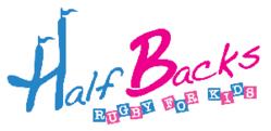 HalfBacks kids rugby Logo