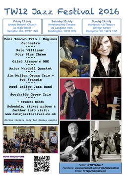 Jazz Festival Flyer 2016