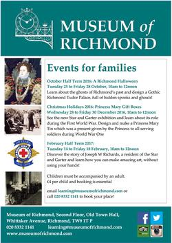Museum of Richmond Oct to Feb 2016 poster