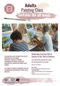 Painting Class Spring 2016