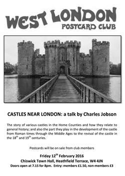 Postcard Club Feb 2016 poster
