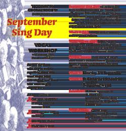 September Sing Day