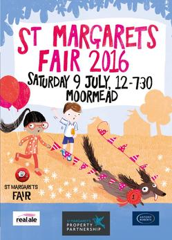 This year's Fair artwork  by local illustrator Ali Pye
