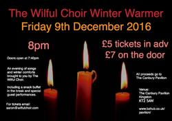 Wilful Choir Winter 2016