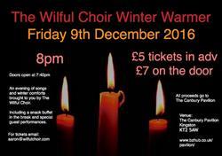 Wilful Choir Winter 2016