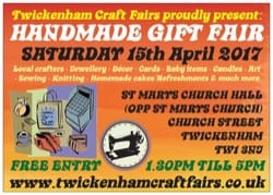 TWICKCRAFTFAIR 1 15th April 2017 FRONT