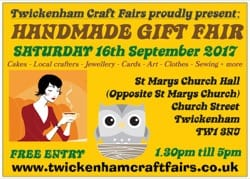 TWICKCRAFTFAIR 5 16th September 2017 FRONT
