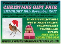 TWICKCRAFTFAIR 7 18th November 2017 FRONT