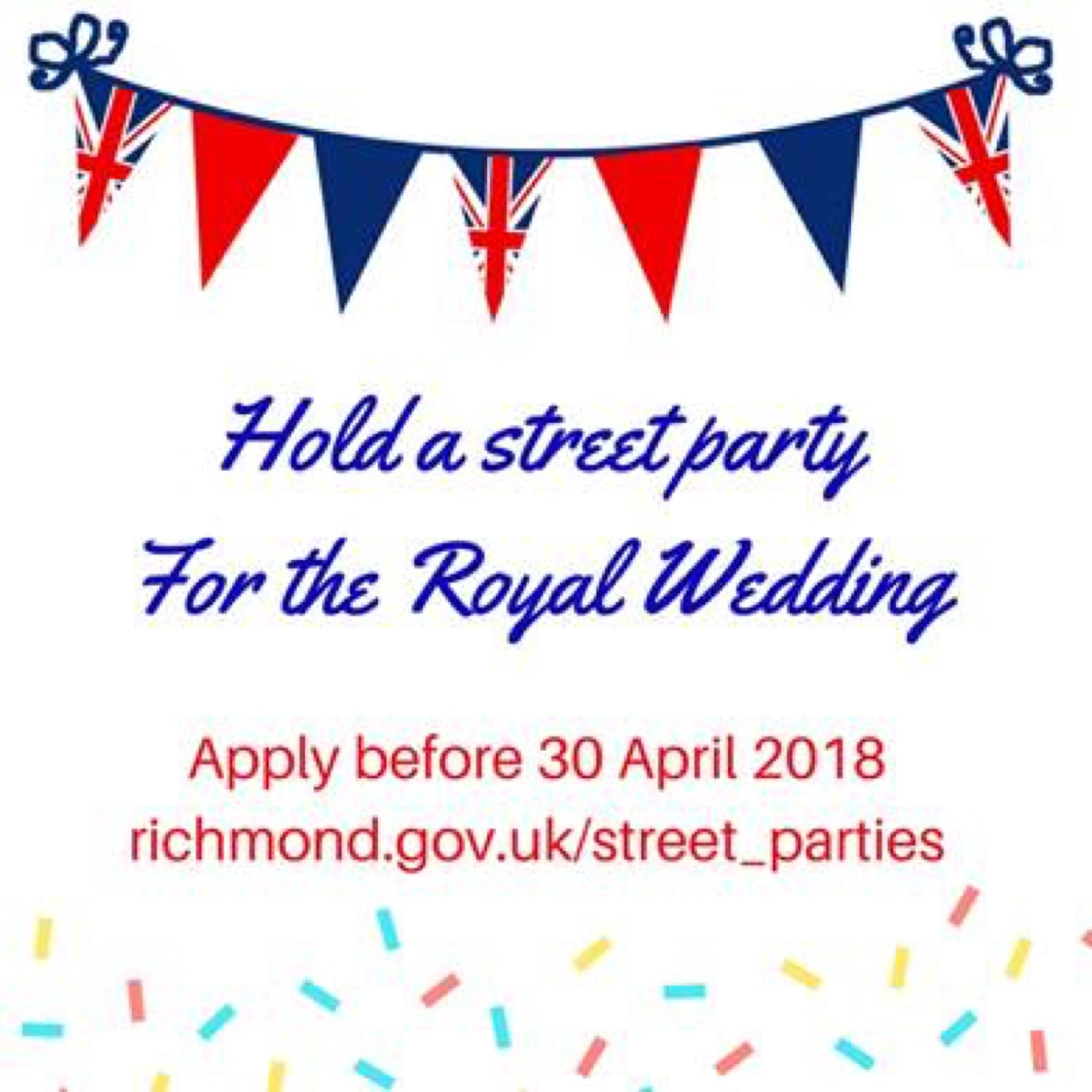Richmond Council Offers Free Street Parties For Royal Wedding