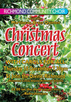 Christmas2015 Richmond Comm Choir