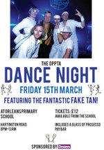 Poster dance night