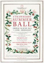Strawberry Summer Ball flyer