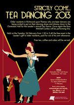Tea Dance Poster 2013