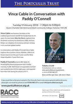 Vince Cable poster