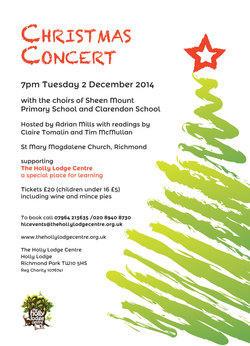 hollylodge   christmas concert 2014